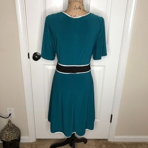 Love Squared Dresses - Love Squared Faux Wrap Dress NEW! Size 2X